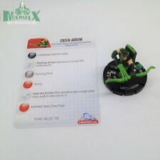 Heroclix Crisis set Green Arrow #026 Uncommon figure w/card!