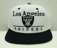 Los Angeles Raiders Snapback Cap NFL Football Hat One size Adult New By Reebok