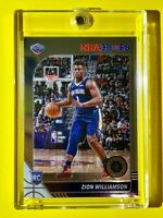 Zion Williamson ROOKIE NBA HOOPS PREMIUM STOCK 2019-20 NEW ORLEANS RC - Mint!