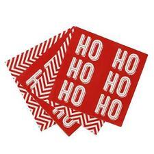 Decoración y menaje color principal rojo de papel para mesas de fiesta, Navidad