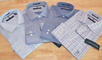 NWT Tommy Hilfiger Regular Fit Stretch Long Sleeve Dress Shirt - Variety!