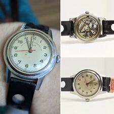 Gents Vintage Paul Buhre Garrard Military 15 Jewel Wind Up Watch - Working