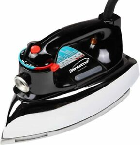 Brand New Brentwood MPI-70 Classic Nonstick Steam/Dry Iron - 1100W - Black