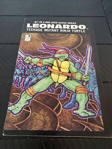 #1 IN A ONE ISSUE MICRO SERIES - LEONARDO TEENAGE MUTANT NINJA TURTLE - 1986