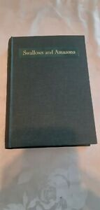 VINTAGE BOOK - SWALLOWS AND AMAZONS BY ARTHUR RANSOME - 1934