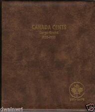 "Unimaster Coin Album #151 ""Canada Large Cents 1858-1920""  Pennies Money Storage"