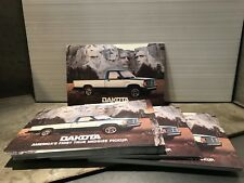 50+ New Unused 1987 Dodge Dakota Pickup Postcards Salesman Introduction