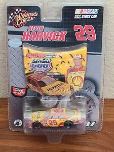 2007 #29 Kevin Harvick Shell Pennzoil Daytona 500 Win 1/64 Winners Circle NASCAR