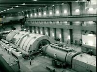Brokdorf nuclear power plant - Vintage photograph 3262860