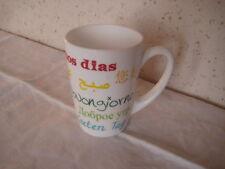 """Tasse Mug déco """" Bonjour en plusieurs langues """""""