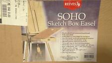 Reeves SOHO Sketch Box Easel Folding Drawing Painting Art Wood