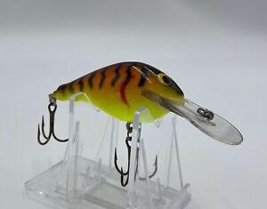 Vintage Bagley Balsa Crankbait Fishing Lure - DB3 ? - Tough Color