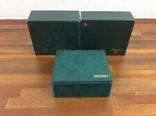 Grand Seiko Watch Box Vintage Green + Free Shipping