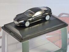 ASTON MARTIN DB9 COUPE in Onyx Black 1/76 scale model OXFORD DIECAST