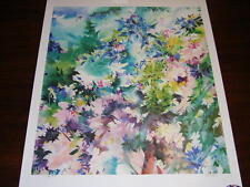 """""""Under the Apple Tree"""" Numbered Lithograph by Zoe Mac"""