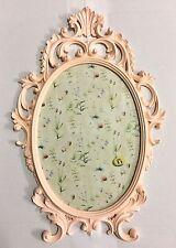Cadre d'image baroque rose ovale ancien 43x27 Cadre Photo c531
