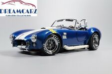 Kyosho K08045BY 1/18 Shelby Cobra 427 S/C Blue, yellow fender stripe NEW RELEASE