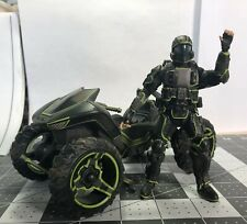 The Rookie Halo 3: Odst Visor Mode Mongoose Mcfarlane Toys Action Figure Used