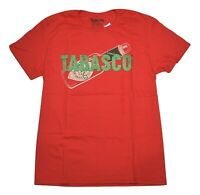 TABASCO Bottle T-Shirt Tee Fashion Hot Sauce Red NWT Licensed & Official