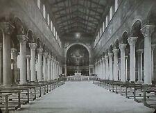 St. Boniface's Abbey/Basilica, Munich, Germany, Magic Lantern Glass Slide