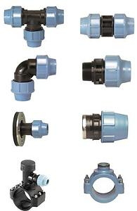 MDPE PIPE FITTINGS for water. WRAS approved. The professional choice since 1973