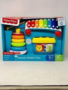 Fisher Price Classic Infant Trio Set Brandnew