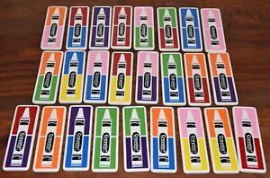 CRAYOLA Dominos - 25 Pieces - EUC