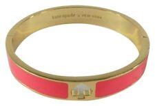 Kate Spade Hole Punch Spade Bangle Bracelet Geranium/Pink~NWT~STUNNING!!!