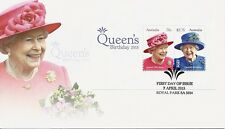 2015 Australia - Queen Elizabeth II Birthday MS FDC  - Royal Park SA 5014 PMK