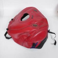 19db6096a76 Alfombrilla de depósito Bagster de piel color rojo motocicleta Segunda mano