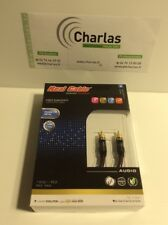 REAL CABLE _ Cable Subwoofer  _ RCA male/male 2M E SUB
