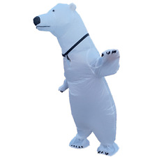 Inflatable Polar Bear Costume for Adults Carnival Halloween Cosplay Party Dress
