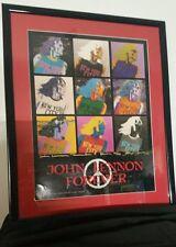 "JOHN LENNON #9 BY STEVE ALTMAN WARHOL MAX sign # GLOSS 16""X 20"" CAT $300+"