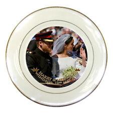 Prince Harry and Meghan Markle Royal Wedding Porcelain Plate #02