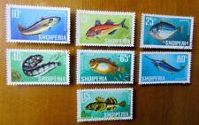 EBS Topicals Albania Shqiperia 1967 Fish Fische Pesce Poissons 8276