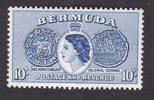 Bermuda 1953 10s SG149 MINT very light hinge