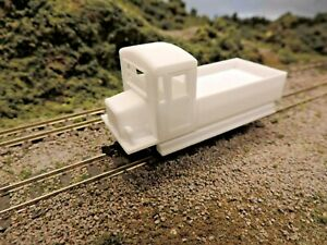 NEW DESIGN 009 3D PRINTED WORKCAR BODY WITH KATO CHASSIS included