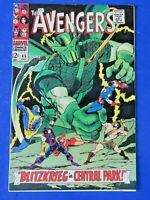 AVENGERS #45 COMIC BOOK Super Adaptoid ~ Marvel Silver Age 1967 ~ VF+