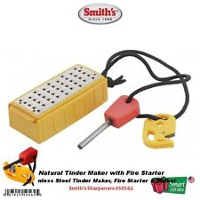 Smith's Abrasives Natural Tinder Maker with Fire Starter #50562