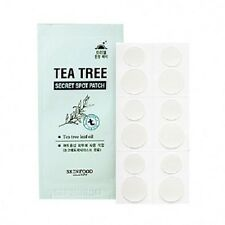 Skinfood Tea Tree Secret Patch 12 pk Redness Reducer Anti-Acne Spot Treatment
