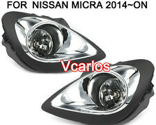 CAR FOG LAMP For NISSAN MICRA 2013 2014 2015 2016 /Wring Kit Included