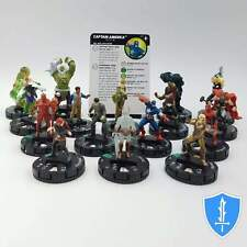 Complete Set 16 Uncommon - Marvel Secret Wars Battleworld HeroClix Miniature Lot