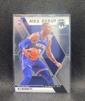 Rj Barrett Rookie NBA Debut 2020 Mosaic Basketball Panini #270 New York Knicks