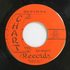 Rockabilly Nm! 45 Jim Nesbitt - Heck Of A Fix In 66 / I'M From The Country On Ch
