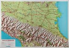 EMILIA ROMAGNA 100X72 CM CARTA REGIONALE IN RILIEVO LAC (CARTINA) 9788879144186