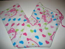 HELLO KITTY by SANRIO - PLUS 100% POLYESTER PAJAMA BOTTOMS - JUNIOR SMALL 2f5b69f8c
