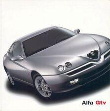Alfa Romeo - GTV - Prospekt - Deutsch - 08/01 - 04.9.5808.50