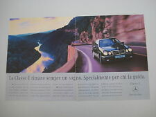 advertising Pubblicità 1997 MERCEDES CLASSE E