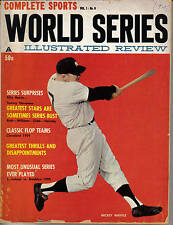 1961 World Series Review Baseball Magazine, Mickey Mantle New York Yankees FAIR