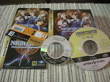 SEGA SATURN NIGHTRUTH EXPLANATION OF THE PARANORMAL JUEGO ROL USADO BUEN ESTADO